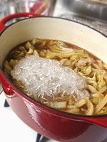 豚肉と白菜の炒め煮の作り方