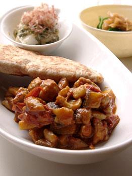 カレーの壺を使った鶏と野菜のカレー
