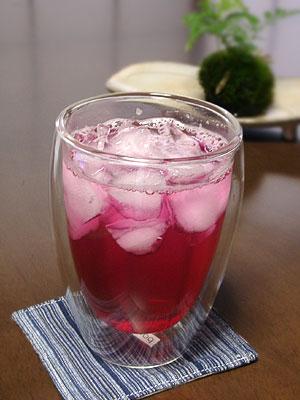 赤しそジュース(赤しそドリンク)