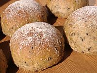 ホシノ天然酵母で失敗パン