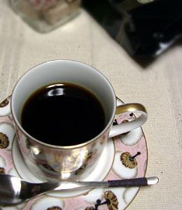 チロルコーヒーをお取寄せ
