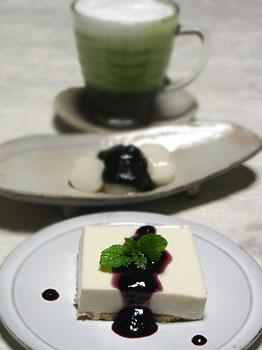 豆腐レアチーズケーキレシピ
