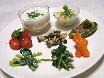 Oisixの野菜で作ったワンプレート