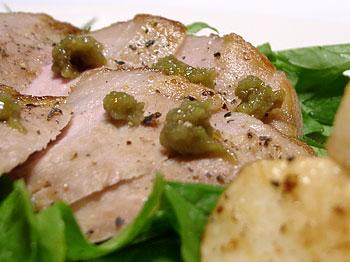 館ヶ森高原豚ロース肉のソテー(Oisixのおためしセット)
