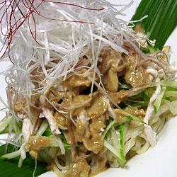 棒棒鶏涼麺(バンバンジーリャンメン)