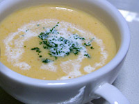 根野菜のスープ